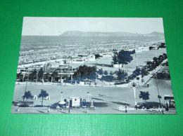 Cartolina Rimini - Panorama Spiaggia 1960 Ca. - Rimini