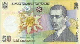 ROMANIA 50 LEI 2005 (2009) P-120a UNC PREFIX 09 [RO120a09] - Romania