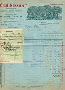 """Ungheria (Budapest) - Fattura Della Ditta """" Emil Kassirer's Datata 16 Agosto 1913 - (FDC4999) - Fatture & Documenti Commerciali"""