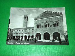 Cartolina Treviso -- Piazza Dei Signori 1955 Ca - Treviso