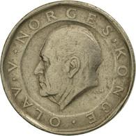 Norvège, Olav V, 10 Kroner, 1986, SUP+, Nickel-brass, KM:427 - Norvège