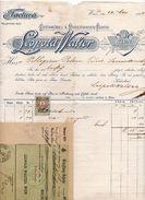 """Austria - Vienna - Fattura Della Ditta """" Leopold Walter """" Datata 12 Maggio 1897 - (FDC5000) - Austria"""