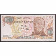 TWN - ARGENTINA 304d1 - 1000 1.000 Pesos 1976-83 Serie I - Signatures: Lopez & Ianella UNC - Argentina