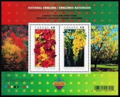 Canada (Scott No.2001b - Emblèmes Nationaux / National Emblems)+ [**] Feuillet / SS - 1952-.... Reign Of Elizabeth II