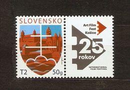 Slovakia 2017 Pofis 636 + K ** - Unused Stamps