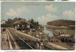 - Viet Nam - SAIGON - Indochine - Quai De Belgique, Pont Tournant, Jonques, Non écrite,  TTBE, Scans... - Viêt-Nam