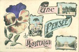 Montaigu ( Scherpenheuvel)  :  Une Penseé  -  Marcovici - Scherpenheuvel-Zichem