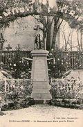(37) CPA  Ville Sur Terre  Monument (bon Etat) - France