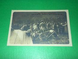 Cartolina Aviazione Concorso Aereo Internazionale - La Caduta Di Geo Chavez 1910 - Militaria