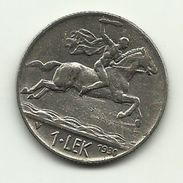 1930 - Albania 1 Lek^ - Albania