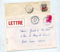 Lettre Cachet Courchaton - Storia Postale