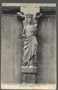 51 Reims   Avant Le Bombardement   Trumeau Du Portail  CPA 1925 - Monuments