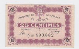 Billet De Nancy 25 Cts Sans Date  Pick 56 - Chambre De Commerce