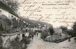 (37) CPA Billy Sur Ourcq Rue D' En  Haut  (bon Etat) - Autres Communes