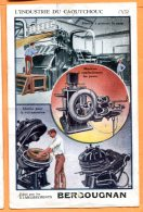 ALB259, L'industrie Du Caoutchouc, édit. Etablissements Bergougnan, Pneus Vélo, Auto, Moto, Vélo Etc.., Clermont-Ferrand - Advertising
