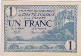 Billet De Chateauroux  1 Franc 11 Aout 1920  Pick 26 - Chambre De Commerce