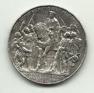 Germania - Medaglia 1913 - Mit Gott Fur Konig Und Vaterland, - Altri