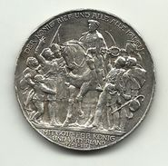 Germania - Medaglia 1913 - Mit Gott Fur Konig Und Vaterland, - Germania