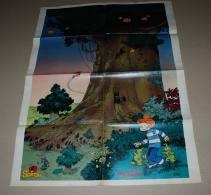 Supplément Spirou Du N° 2215 Poster Recto Verso, Isabelle Et La Voiture Stutz Bearcat - Spirou Magazine
