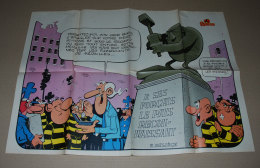 Supplément Spirou Du N° 2303 Poster Recto Verso Bobo Et La Voiture Cord L–29 Brougham - Spirou Magazine