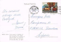 24633. Postal PORTO (Portugal) 1968. Stamp Wein, Vino, Uvas Madeira - 1910-... República