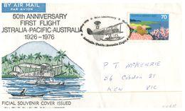 (533) Australia 1976 - 1st Flight 50th Anniversary - Airplanes