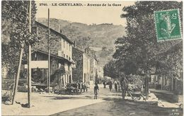 07.LE CHEYLARD. N 2745.  AVENUE DE LA GARE - Le Cheylard