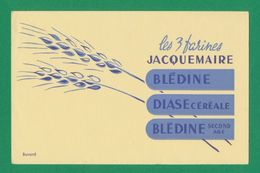 Buvard - JACQUEMAIRE - 3 Farines - Blotters