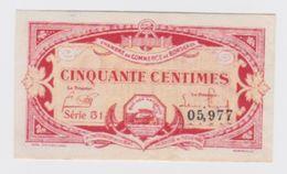 Billet  C.D.C. De Bordeaux  50cts  1920  Pick 24 Neuf - Chamber Of Commerce