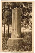 Rossignol, Stèle élevée A La Mémoire D'Ernest Psichari A L'endroit Ou Il Morait  (pk35348) - Tintigny