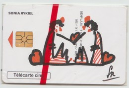 TÉLÉCARTE FRANCE . CARTE PRIVÉE . SIDA INFO . SONIA RYKIEL . CINQ UNITÉS . SOUS BLISTER - France