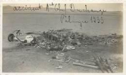 LIBAN : PALMYRE : RESTE DE L'AVION OU L'ADJUDANT DUCHANGE A PERDU LA VIE LE 17 MARS 1933. - Lugares