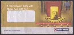 Gold Bullion  Gold Bar 2010 Meter Franked Cover   # 20651 - Geology