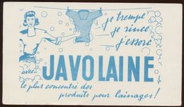 Buvard - JAVOLAINE - Löschblätter, Heftumschläge