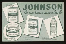 Buvard - Cire JOHNSON - Buvards, Protège-cahiers Illustrés