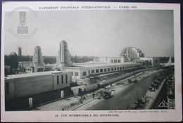 OLD POSTCARD - CP - EXPOSITION COLONIALE PARIS 1931 - CITE INTERNATIONALE DES INFORMATIONS - UNPOSTED UNCIRCULATED - Exposiciones