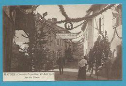 CPSM Concours Exposition En 1927 Rue Des Nonins MATOUR - CLUNY 71 - Cluny