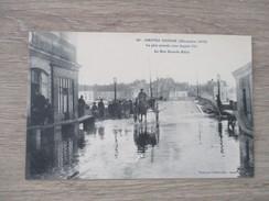 CPA 44 NANTES INONDE   DECEMBRE 1910 LA RUE GRANDE BIESE - Nantes