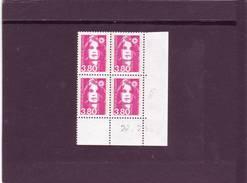 N° 2624 - 3,80F Marianne De BRIAT - 1° Tirage Du 20.02 Au 9.03.90 - 27.02.1990 - - 1990-1999