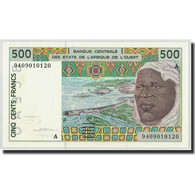 West African States, Côte D' Ivoire, 500 Francs, 1994, KM:110Ad, NEUF - West African States