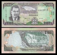Jamaica 100 DOLLARS 2007 P 84e UNC (Jamaïque, Giamaica, Jamaika) - Jamaique