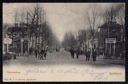 APELDOORN - STATIONSTRAAT -- Zeer Mooi - Verzonden 1903 - Apeldoorn