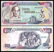 Jamaica 50 DOLLARS Commemorative 2012 P 89 UNC  (Jamaïque, Giamaica, Jamaika) - Jamaique