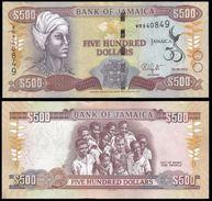JAMAICA 500 DOLLARS Commemorative 2012 UNC  (Jamaïque, Giamaica, Jamaika) - Jamaique