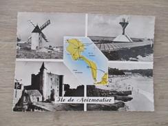 CPA PHOTO 85 ILE DE NOIRMOUTIER MULTI VUES CARTE - Noirmoutier
