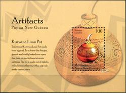 Papua New Guinea. 2014. Artifacts Of Papua New Guinea (MNH OG **) Souvenir Sheet [DLC.ST-003752] - Papouasie-Nouvelle-Guinée