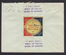 Christianity Label On Postal Stationary Cover 1959 # 21054 India Inde Indien - Vignetten (Erinnophilie)