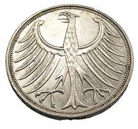 5 Mark  - Allemagne - 1951 G - Argent - TB+ - - [ 6] 1949-1990 : RDA - Rép. Démo. Allemande