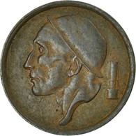 Belgique, 20 Centimes, 1954, TB, Bronze, KM:146 - 01. 20 Centimes