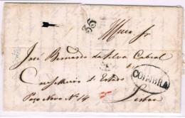 Portugal, 1839, Coimbra-Lisboa - Portugal